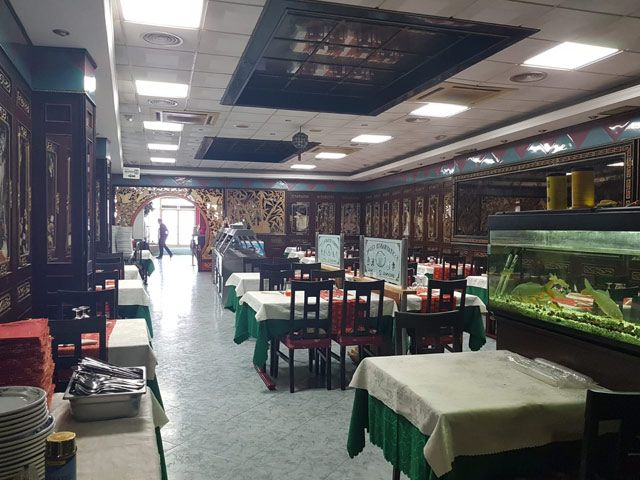 Restaurante Chino Hong Kong interior de local
